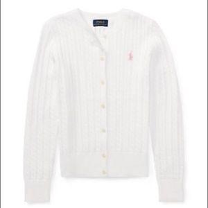 ☀️Ralph Lauren Cable-Knit Cotton Cardigan
